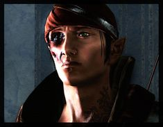 Iorveth Unmasked by maqeurious on DeviantArt