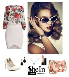 """Shein 3."" by amra-f ❤ liked on Polyvore featuring Calvin Klein, Tiffany & Co., Kenneth Jay Lane and Lancôme"