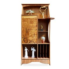 Louis Majorelle French Art Nouveau Cabinet | From a unique collection of antique and modern cabinets at https://www.1stdibs.com/furniture/storage-case-pieces/cabinets/