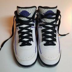 b74dd990247 Nike Shoes | Nike Air Jordan Retro 2 Dark Concord | Color: Gray/Purple |  Size: 5.5b