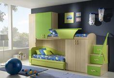 50 Diseños de recamaras infantiles contemporáneas por Giessegi | Interiores