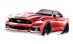 The Drawings and Designs that Gave Birth to the Latest Ford Mustang – Feature – Car and Driver - Car and Driver