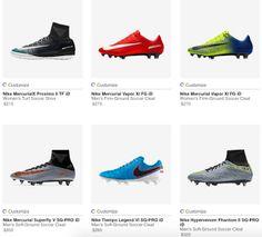 Design your own nike football boot. #Mercurial #Superfly, #Hypervenom #Phantom, #Magista #Football #Boot #footballboot
