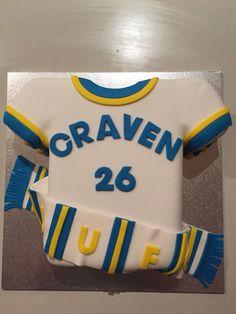 Leeds United cake #chocolatemud 40th Cake, Special Birthday Cakes, 30th Party, Leeds United, Interesting Recipes, How To Make Cake, Chocolate Cake, Cake Ideas, Good Food