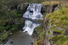 Upper and Middle Ebor Falls, Guy Fawkes River, Ebor, Waterfall Way, NSW    © All Rights Reserved - Black Diamond Images