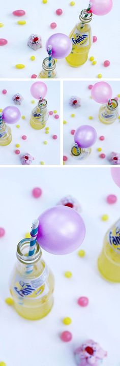 Balloon Straws | Click Pick for 16 Awesome Sweet 16 Party Ideas for Girls | DIY Party Ideas for Teen Girls
