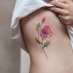 korean tattoo artist Poppy :-) - #타투 #그라피투 #타투이스트리버 #디자인 #그림 #디자인 #아트 #일러스트 #tattoo #graffittoo #tattooistRiver #design #painting #drawing #art #Korea #KoreaTattoo #poppytattoo #양귀비타투 #꽃타투 #여자타투
