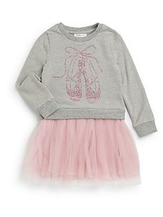 PINC PREMIUM Toddler's & Little Girl's Lace Ballerina Dress