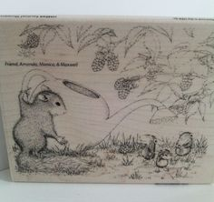 "#HouseMouse ""Squirrel Showers"" #RubberStamp http://www.ebay.com/itm/262444172686?ssPageName=STRK:MESELX:IT&_trksid=p3984.m1555.l2649 #cardmaking #papercraft #scrapbooking #copicmarkers"