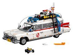 What you gonna build? ECTO-1! Ambulance, Lego Ecto 1, Oklahoma, Die Geisterjäger, Lego Cars, Boutique Lego, Modele Lego, Ghostbusters Logo, Construction Lego