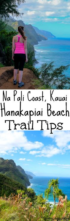 Tips for the Hanakapiai Trail on the Kalalau Trail in Kauai. This is one of the most beautiful hiking trails in Kauai, if not all of Hawaii. If you are doing any Kauai Hiking on the north shore and up for an adventure you have to do this! Includes photography of the entire journey and take aways.  Total bucket lists trips to Hanakapiai Beach. / Running in a Skirt