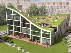 Funen Blok K by NL Architects is part of a masterplan for 500 residences and a park