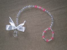 Beaded Pacifier Clip Baby Accessories by BittysBabyCreations, $16.99