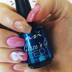 Glaze N Go LED is super simple to use and cures in 60 seconds in a LED lamp. Definitely my Fave top Coat.