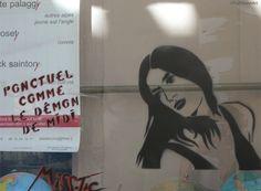 #MissTic Arles Street Art  Rue Dieudonne - Réattu