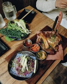 *HIGHLY RECOMMEND* fall-off-the-bone pork ssam wraps 🐷 @alxtsu