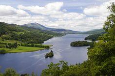 Queen's View near Tummel Valley Holiday Park, Pitlochry, Scotland