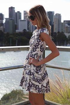 PAISLEY PRINT DRESS , DRESSES, RESTOCKING,,Minis Australia, Queensland, Brisbane