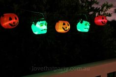 Easy kids Halloween craft - make a glow in the dark graland in under 10 minutes! Here's how!