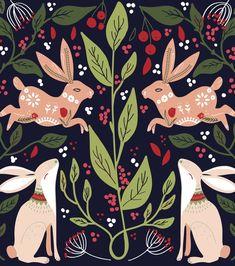 Art And Illustration, Cat Illustrations, Folk Art Flowers, Flower Art, Bordado Popular, Scandinavian Folk Art, Bird Embroidery, Pattern Art, Pattern Flower