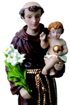 Saint Anthony: For every single people! Today is his day and  Lisbon's municipal holiday.