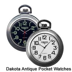 The Dakota Antique Classic Pocket Watch is the epitome of graceful for the distinguished professor or just for those that like to be a bit more 'steampunk' at school.  $39.95