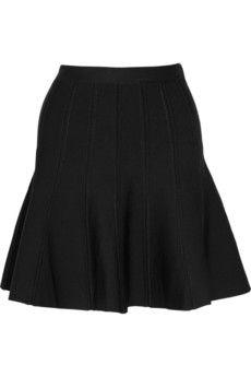 Hervé Léger|A-line bandage mini skirt|NET-A-PORTER.COM - StyleSays