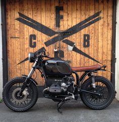 BMW custom bike black