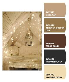 Vintage Neutrals | Paint colors from Sherwin Williams