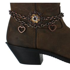 Shyanne® Women's Sunburst Floral Boot Bracelet cute for my cowgirl boots!