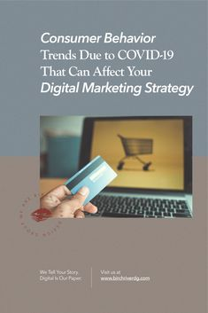 Consumer behavior has changed, so should your marketing strategies. Read our latest blog to learn how COVID-19 is shaping digital marketing today.  #digitalmarketing #consumerbehavior #marketingtrends #digitalmarketingagency Marketing Tactics, Content Marketing Strategy, Email Marketing, Business Website, Business Tips, Consumer Behaviour, Growing Your Business, Behavior, Blog