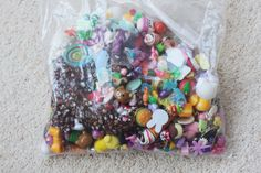 HUGE Bag of Craft Pieces  Including Beads by CharmsByIzzy on Etsy, £15.00