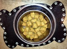 Healthy Peanut Butter and Pumpkin Dog Treats Recipe