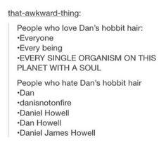 His hobbit hair is my life