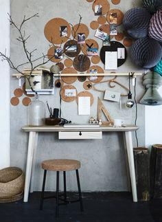 Ikeas underlägg blir en dekorativ anslagstavla | Residence