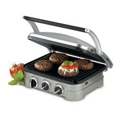 Cuisinart Griddler / Panini Press. Use for hamburgers, steaks and chicken breasts, or for some yummy panini sandwiches.