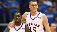 I miss these guys. :(  Sherron Collins and Cole Aldrich