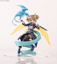Sword Art Online ALO Silica And Pina Figure