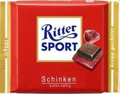RITTER SPORT Fake Schokolade Schinken
