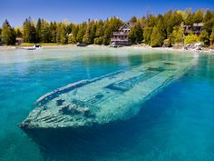 Shipwreck of the Sweepstakes, Lake Huron, Ontario, Canada There are over 6,000…