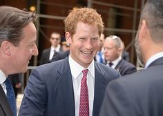 Prince Harry has one sweet smile!