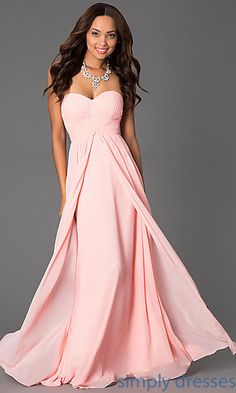 a14711d4ae532 Pleated Pastel Strapless Sweetheart Gown