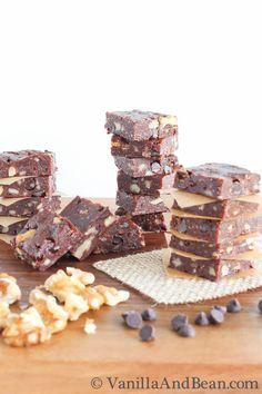 Double Chocolate Date Bites | VanillaAndBean.com