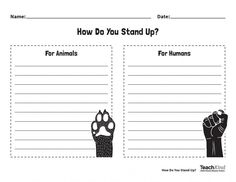 Black History Month Activities: Celebrate Civil Rights Leaders Who Have Stood Up for Humans AND Other Animals. #teachkindness #blackhistorymonth #worksheets