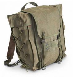 Italian Army Alpine Mountain Backpack Rucksack Vg Ex