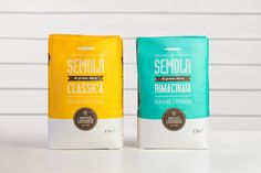 Semolificio Loiudice Flour Pack on Packaging of the World - Creative Package Design Gallery