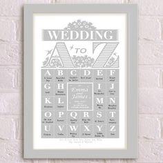 A-Z Wedding Grey