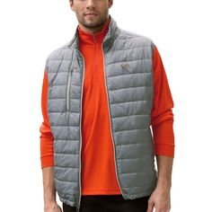Memphis Tigers Apex Compressible Quilted Vest - Gray - $74.99