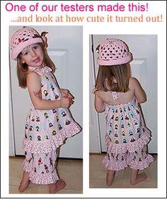 Bundle Pack: Boutique Bottoms, Dress Top, and Romper