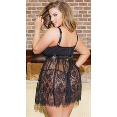 235f7921b Solid Lace Transparnet Hollow Out Dress 2018 Sexy Women Nightgowns    Sleepshirts Spaghetti Strap Nightgowns Plus